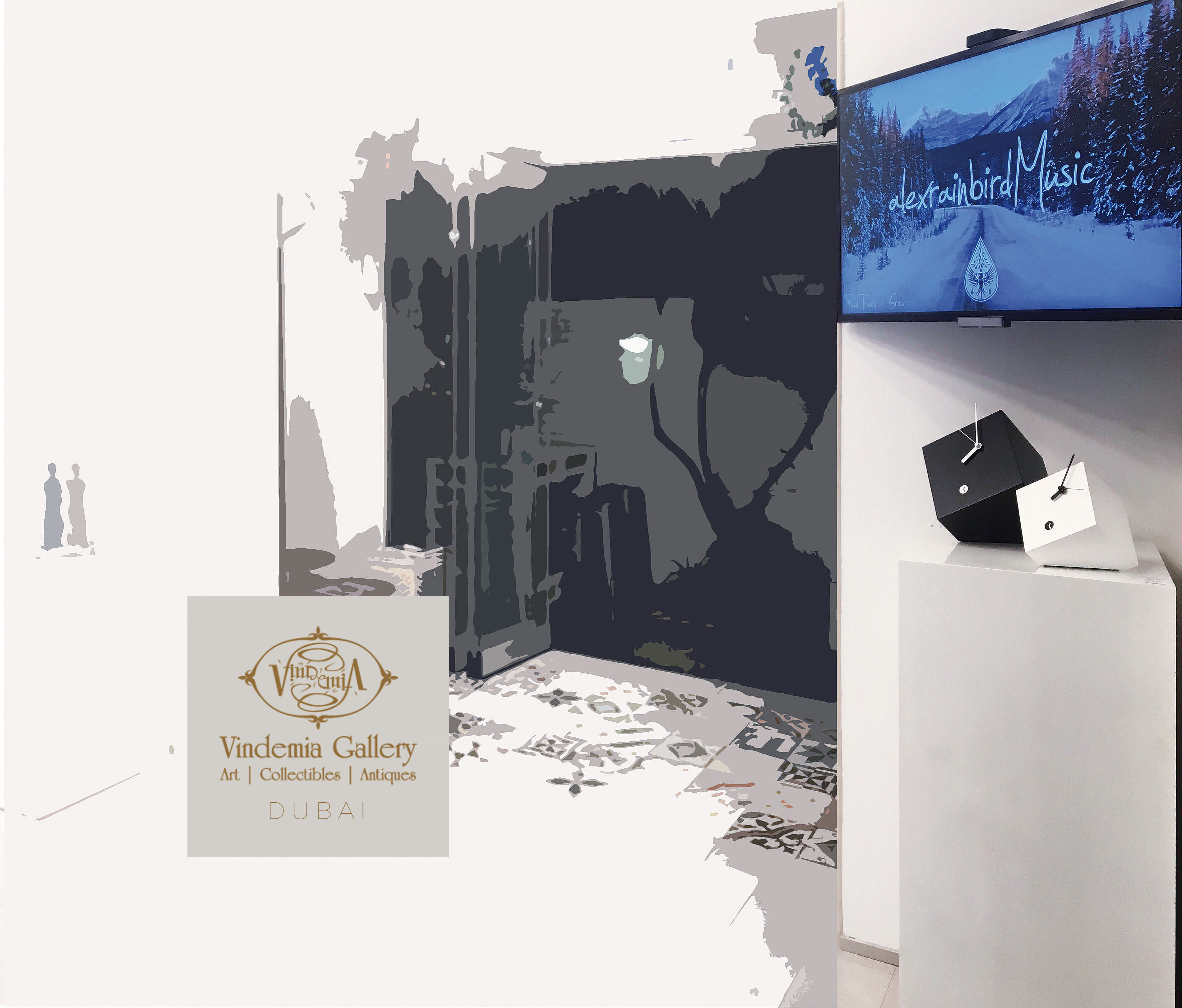 Dubai Gallery Text