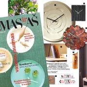 Tothora design clocks in the Lithuania magazin NAMASirAS